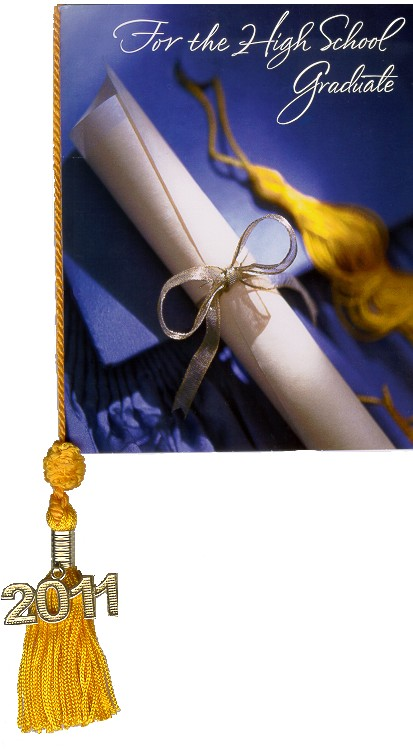 Graduation Program Tassels