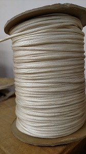 1/8 COVERED WHITE WIRE BRAID # 72