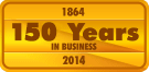 150 Years in Business