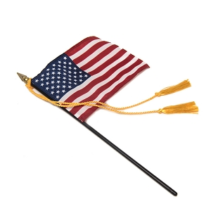 Medium Flag Tassel with Rayon Tassels