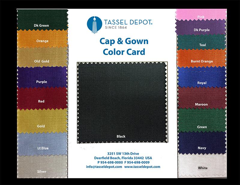 Graduation Cap, Gown & Tassel Pack   Tassel Depot
