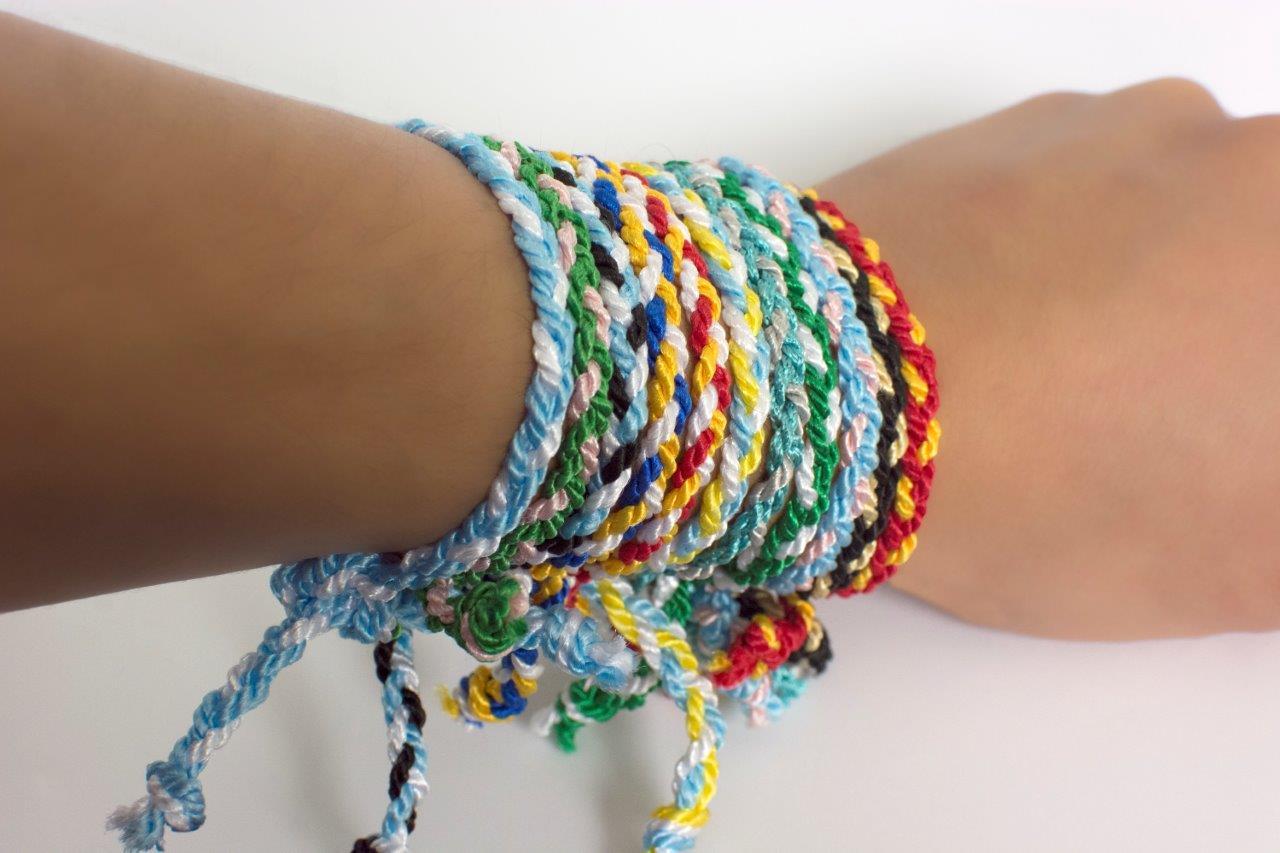 Greek Braided Bracelet Tel Depot