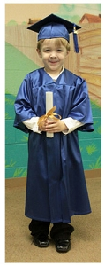 Kinder Cap, Gown & Tassel Pack