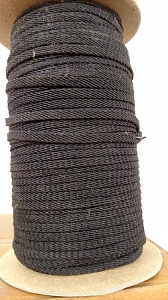 BLACK DIAGONAL WEAVE BRAID # 54