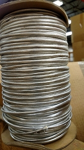 MET SILVER COVERED WIRE BRAID # 70,71