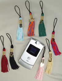 Cell Phone Tassels