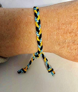 Build up Bahamas Braided Bracelet