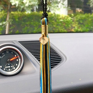 Build Up Bahamas Car Mirror Tassel – 1 for 1