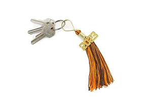 Thanksgiving Key Ring Tassel