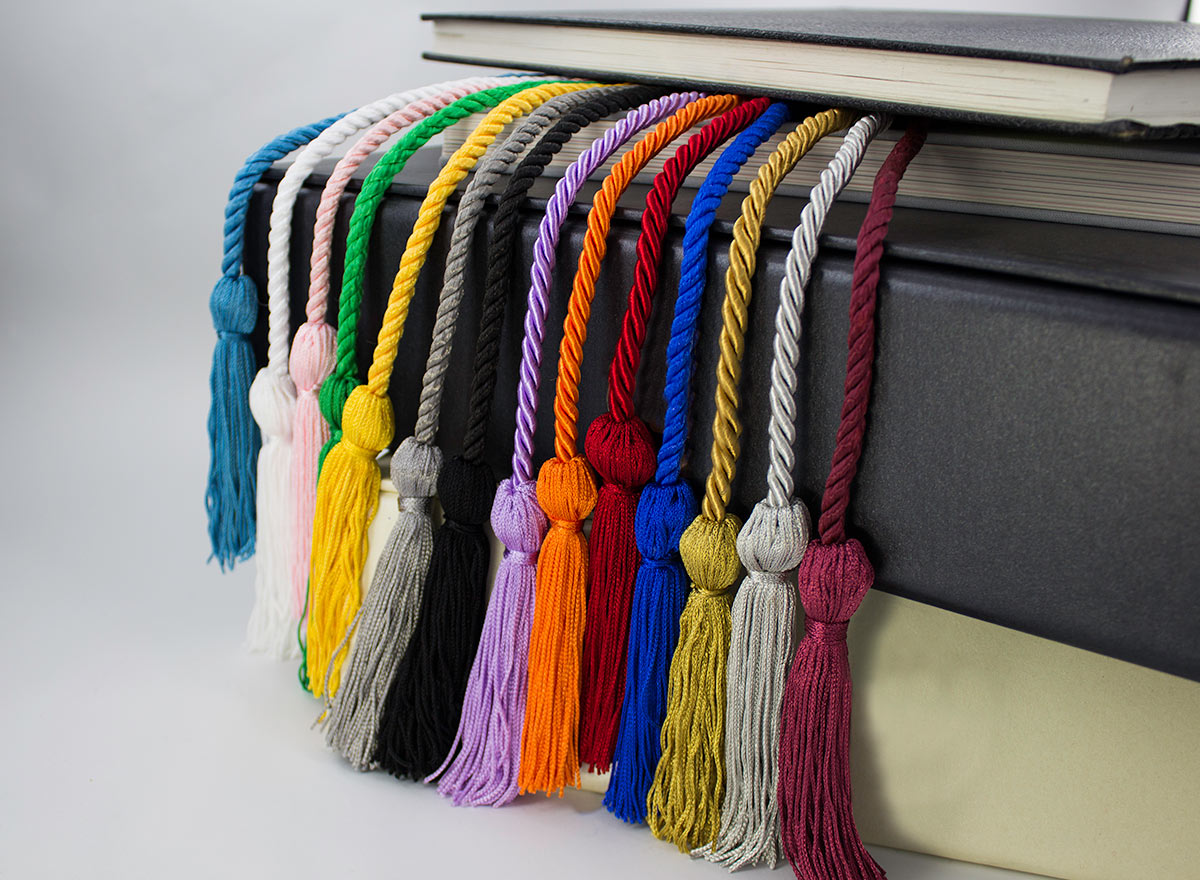 Honor Cords Premium Solid Colors Tassel Depot