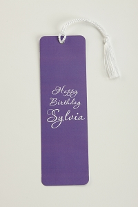Custom Bookmarks with Floss Tassels to Attach (Bundle of 100)