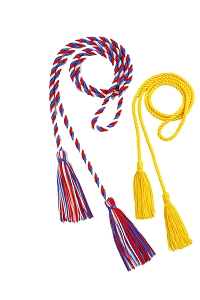 Honor Cords-Standard Solid / Combo Colors