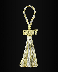 2017 New Years Napkin Tassel