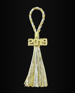 New Years Napkin Tassel
