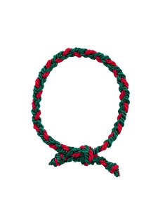Christmas Braided Bracelet