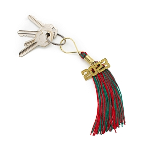 Christmas Key Tassel