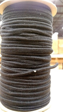BLACK STRAIGHT WEAVE COTTON PRES BRAID #32