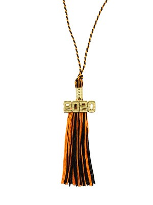 Halloween Tassel Necklace