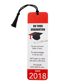 Religious Graduation Bookmark w Tassel (Bundle of 100)